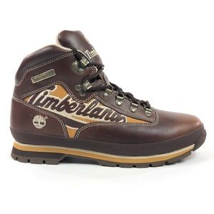 Timberland Euro Hiker Brown Retro Leather Boots